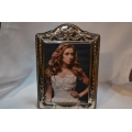 Big solid silver photo frame