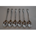 Silverplated set of tea spoons - Rotary Intl.